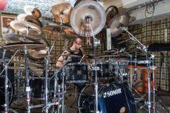 Alexey Bobrovsky melodyczny bębnienie fotografia royalty free