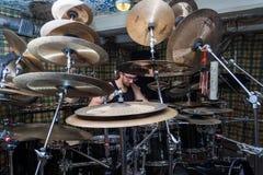 Alexey Bobrovsky melodyczny bębnienie zdjęcia royalty free