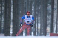 Alexey Chervotkin - cross country Stock Photo