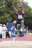 Alexey Drozdov at IAAF decathlon meeting Royalty Free Stock Image
