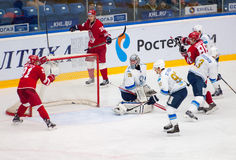 Alexey Makeev (91) in action Royalty Free Stock Photos