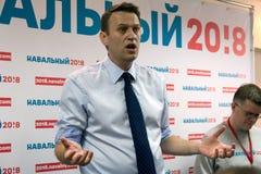 Alexey Navalny im Yoshkar-Ola Lizenzfreie Stockfotos