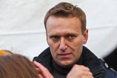Alexey Navalny. Miting in Lublino district. Moscow, Russia