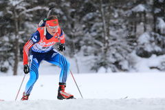 Alexey Slepov - biathlon Stock Photos