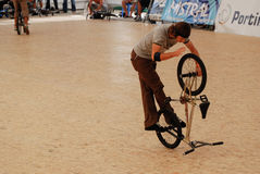 Alexis Desolneux in the Flatland Stock Image