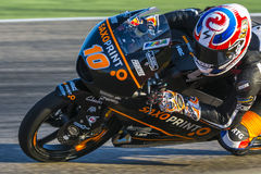 Alexis MASBOU. Moto3. Grand Prix Movistar of Aragón Royalty Free Stock Images