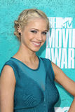 Alexis Napp arriving at the 2012 MTV Movie Awards Royalty Free Stock Images