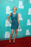 Alexis Napp arriving at the 2012 MTV Movie Awards Royalty Free Stock Photo