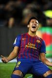 Alexis Sánchez de FC Barcelona fotos de archivo libres de regalías