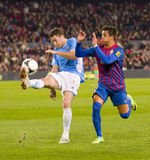 Alexis Sanchez in action Royalty Free Stock Images