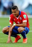 Alexis Sanchez Coupe du Monde 2014 Royalty Free Stock Image