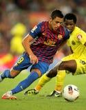 Alexis Sanchez of FC Barcelona Stock Images