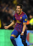 Alexis Sanchez of FC Barcelona Royalty Free Stock Image