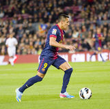 Alexis Sanchez of FC Barcelona Stock Image