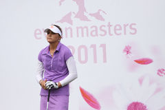 Alexis Thompson (USA) Evian Masters 2011 Stock Photography