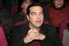 Alexis Tsipras Royalty Free Stock Images