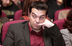 Alexis Tsipras Stock Photography