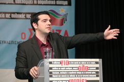 Alexis Tsipras Royalty Free Stock Photos
