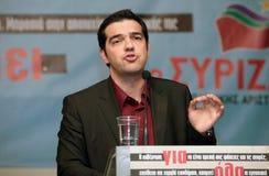 Alexis Tsipras Stock Photo