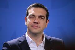 Alexis Tsipras imagem de stock