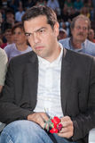 Alexis Tsipras is a Greek left-wing politician, head of the SYRI Stock Photos