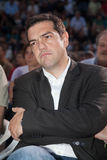 Alexis Tsipras is a Greek left-wing politician, head of the SYRI Stock Images