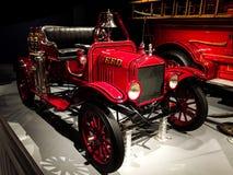 1919 - ALF/Ford模型T化工汽车在博物馆 图库摄影