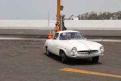 Alfa bianca Romeo Giulietta Sprint Speciale a Lima Immagine Stock Libera da Diritti