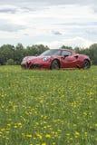 Alfa 4c Zdjęcia Royalty Free