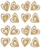 Alfa del cuore Fotografia Stock