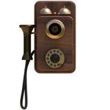 Alfa delantera del teléfono Imagen de archivo libre de regalías
