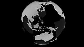ALFA DELLA MAGLIA TRAINGLES DEL GLOBO illustrazione vettoriale