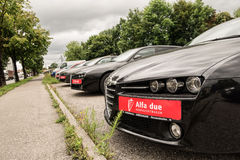 Alfa due Royalty Free Stock Photo