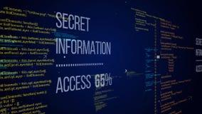 Alfa fajtłapa hackerów kodu ilustracja ilustracji