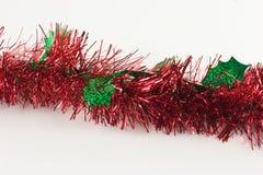 Alfa roja y verde de la guirnalda Imagen de archivo libre de regalías