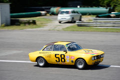 1971 Alfa Romeo 1750 να περιοδεύσει GTam αυτοκίνητο Στοκ φωτογραφίες με δικαίωμα ελεύθερης χρήσης