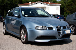 Alfa Romeo 147 GTA Stock Photo