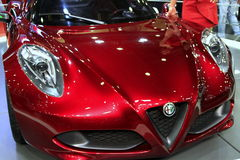 Alfa Romeo 4C. From the Auto Showroom in istanbul/Turkey, 2012 November Stock Images