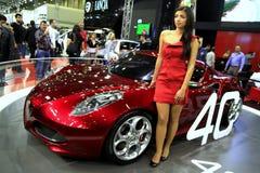 Alfa Romeo 4C royalty free stock photography