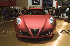 Alfa Romeo 4C Concept - Geneva 2011 Stock Images