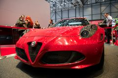 Alfa Romeo 4C Launch edition 2014 Royalty Free Stock Photo