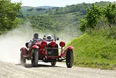 ALFA ROMEO 6C 1750 GS (1930). Attends the mille miglia historic race on May 21 2012,  The rally will feature over 380 classic cars travelling 1000 miles (appx Stock Photos