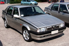 Alfa Romeo 75 stock photo