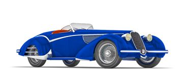 Alfa Romeo 8C 2900B 1937 Stock Photography