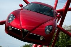 Alfa romeo 8c competizione Stock Photos