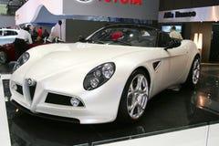 Alfa Romeo 8C Spyder Cabrio Royalty Free Stock Photography