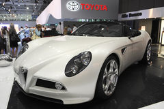 Alfa Romeo 8C Spyder Cabrio Royalty Free Stock Photos