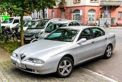 Alfa Romeo 166 Fotografering för Bildbyråer