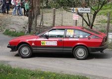 Alfa Romeo Alfetta GTV fotografia stock