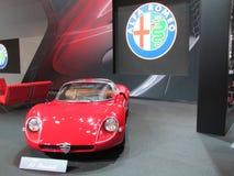 Alfa Romeo-auto 2015 Internationale toont Auto van New York Stock Fotografie